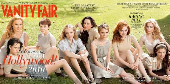 Vanity Fair 2010 Hollywood issue cover