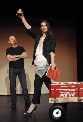 Sandra-Bullock-proudly-displays-her-Razzie-Award-for-Worst-Actress-for-her-role-in-All-About-Steve._article_story_main