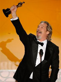 Jeff Bridges at the 82nd annual Academy Awards